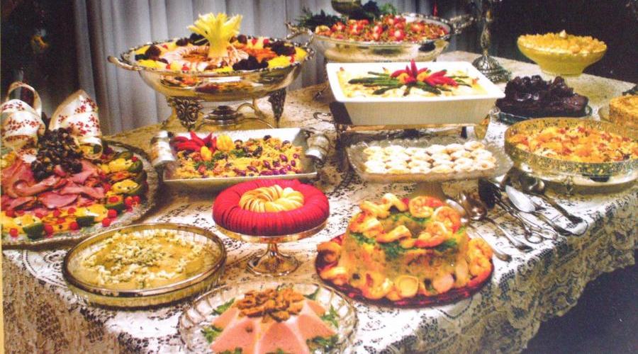 O comer e beber nas celebrações e festas de fim de ano