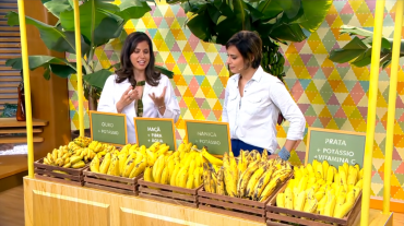 Banana é fonte de energia e aumenta desempenho